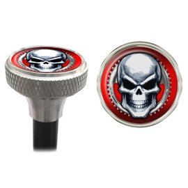 Clean Motion Clean Motion Mean Skull Valve Caps