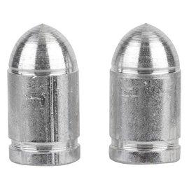 Trik Topz Trik Topz Bullet Valve Caps Chrm