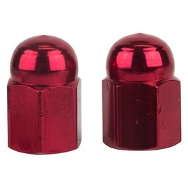 Trik Topz Trik Topz Hex Dome Valve Caps Red