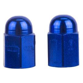 Trik Topz Trik Topz Hex Dome Valve Caps Blu