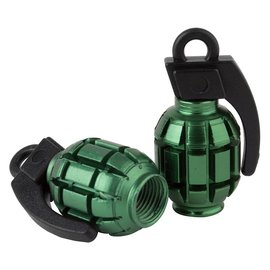 Black Ops Black-Ops Grenade Valve Caps Grn