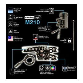 Monkey light MonkeyLectric M210 Monkey Wheel Lights