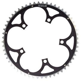 Rocket Rings Rocket Rings 130mm 56T Chainring Blk 5 Hole