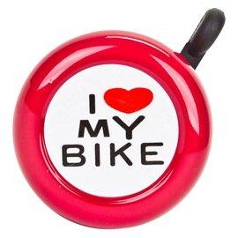 Sunlite Sunlite I Love My Bike Bell Red