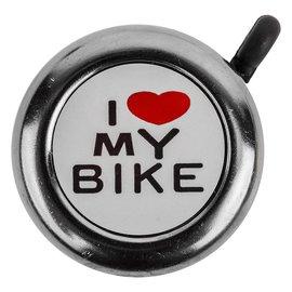 Sunlite Sunlite I Love My Bike Bell Chrm