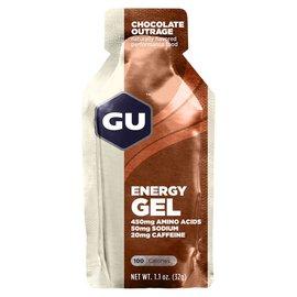 GU Energy GU Chocolate Outrage Energy Gel