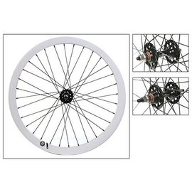 ORIGIN8 Origin 8 Fixie Front Wheel Bolt-On SS FX/FW Blk/Wht 32H