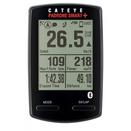 Cateye CateyePadrone Smart+ CC-SC-100B Computers Bluetooth Speed/Cadence&Heartrate Blk