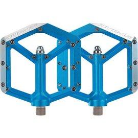 Spank Spank Spike Flat DH Pedals Blu