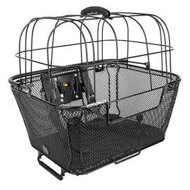 Sunlite Sunlite RackTop/Handlebar Pet Friendly QR Basket Blk