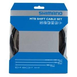 Shimano Shimano MTB Shift Cable Set Blk