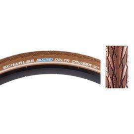 Schwalbe Schwalbe Delta Cruiser 700x35 Brn/Brn Wire Tire