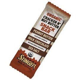 Honey Stinger Honey Stinger Cracker N' Nut Butter Peanut Butter Milk Chocolate Bar