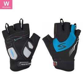 Serfas Serfs RX Women's Short Finger Gloves Blu