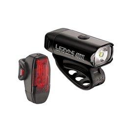 Lezyne Lezyne Hecto Drive 400XL & KTV Pro Pair Blk