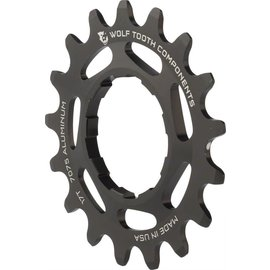 "Wolf Tooth Components Wolf Tooth Single Speed Aluminum Cog 17T 3/32"" chains"
