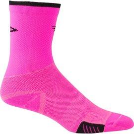 DeFeet DeFeet Cyclismo Sock Pnk/Blk XL