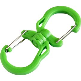 Tyny Tools Tyny Tools Swivel Carabiner 4 Pack Sml Grn