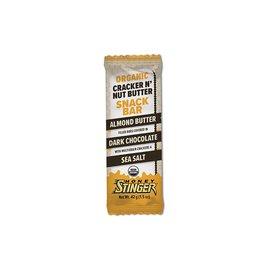 Honey Stinger Honey Stinger Cracker N' Nut Butter Almond Butter Dark Chocolate Bar