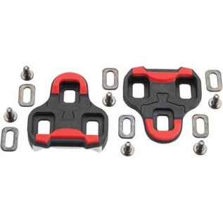 iSSi iSSi 3-Bolt 9 Degree Float Road Cleat Red
