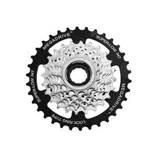 SunRace Sunrace 7-Speed Freewheel 13-34T Sil