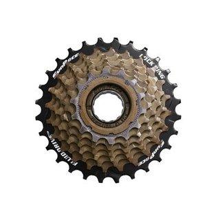 SunRace Sunrace 7-Speed Freewheel 14-28T Brn
