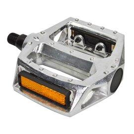 "Sunlite Sunlite Alloy BMX 1/2"" Platform Pedals Sil"