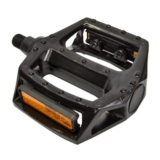"Sunlite Sunlite Alloy BMX 1/2"" Platform Pedals Blk"