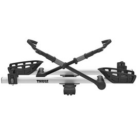 """THULE Thule T2 Pro 2 Hitch Rack 2"""" Receiver Silver"""