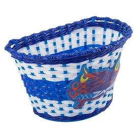 Kidzamo Kidzamo Woven Basket Flames Blu/Wht
