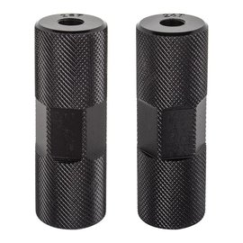Black Ops Black-Ops Knurled Pro BMX Pegs Blk