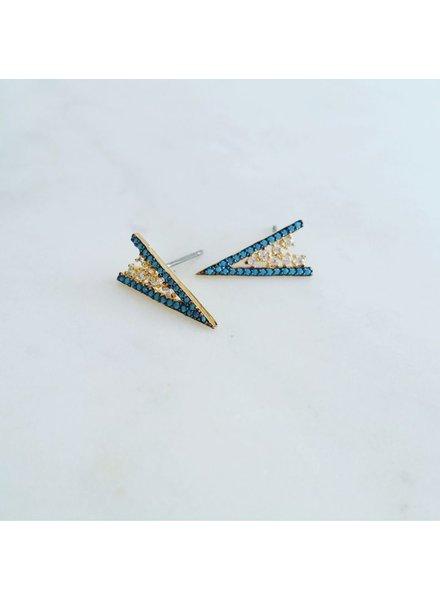 Dagger Peak Earrings