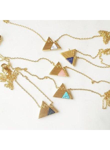 Gemstone Mountain Necklace