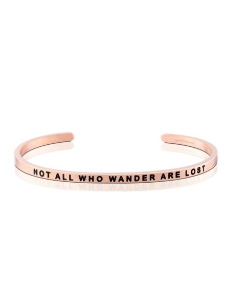 Not All Who Wander Are Lost Braclet