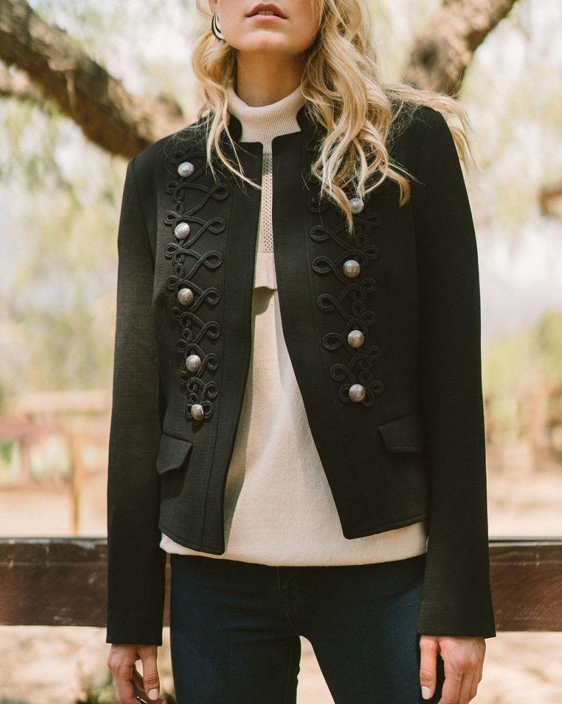 Embellished Embroidered Jacket