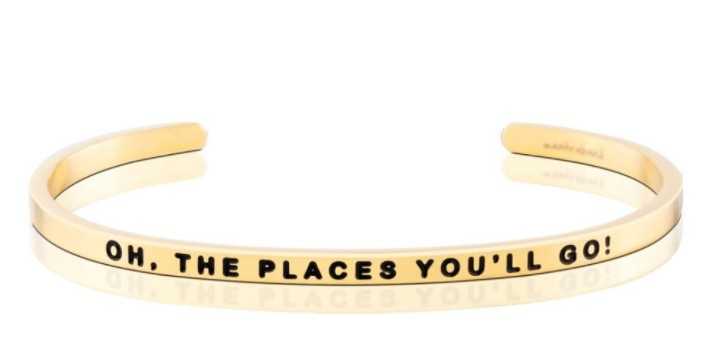 Oh The Places You'll Go Bracelet