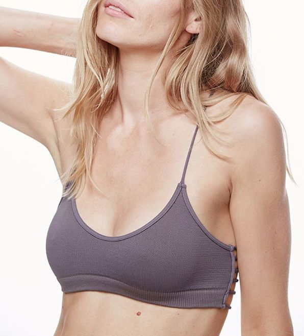 Seamless Strappy Side Bra