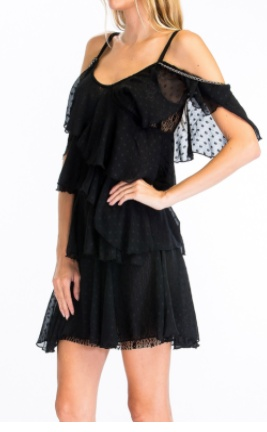 Tiered Polka Dot Dress