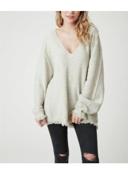 Fringe Hem Detailed Sweater
