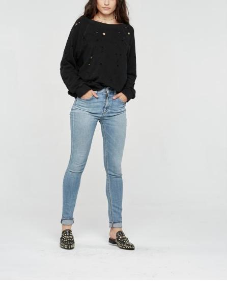 Holey Sweatshirt