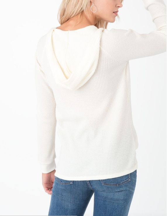 Lace Up Waffle Thermal