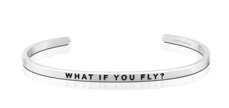 What If You Fly Bracelet