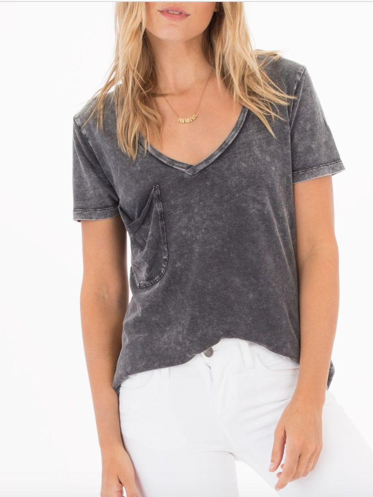 Washed Out Pocket Tee
