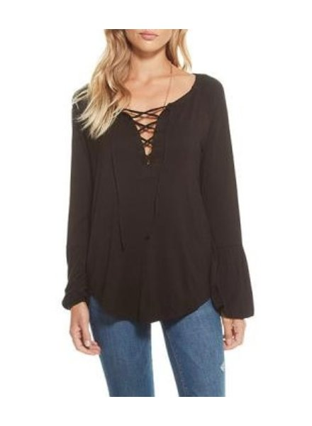 Chaser Lace Up Top
