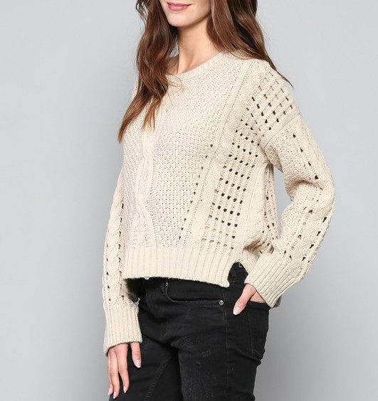 Fate Holey Sweater
