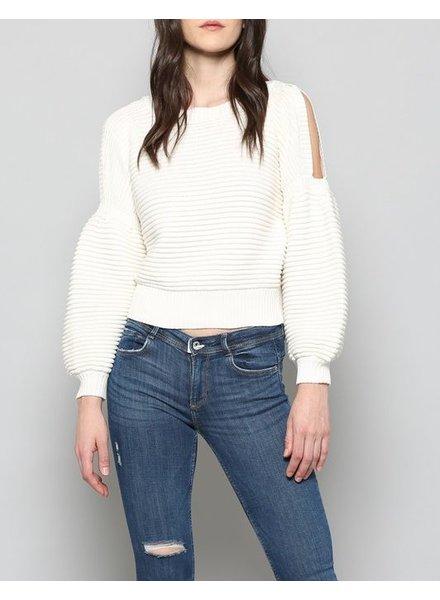 Fate Cold Shoulder Sweater