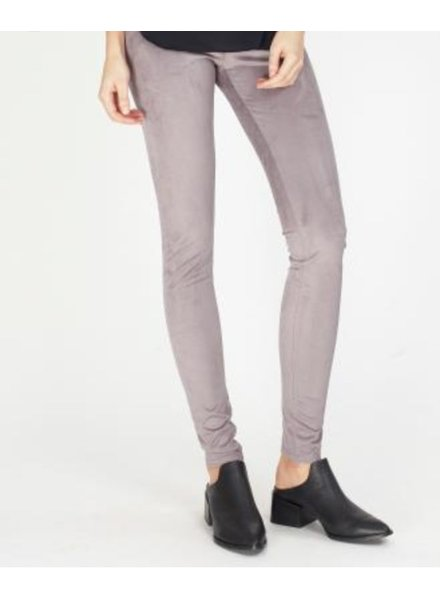 Faux Suede Leggings