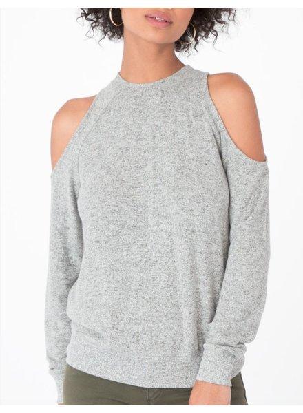Cold Shoulder Pullover