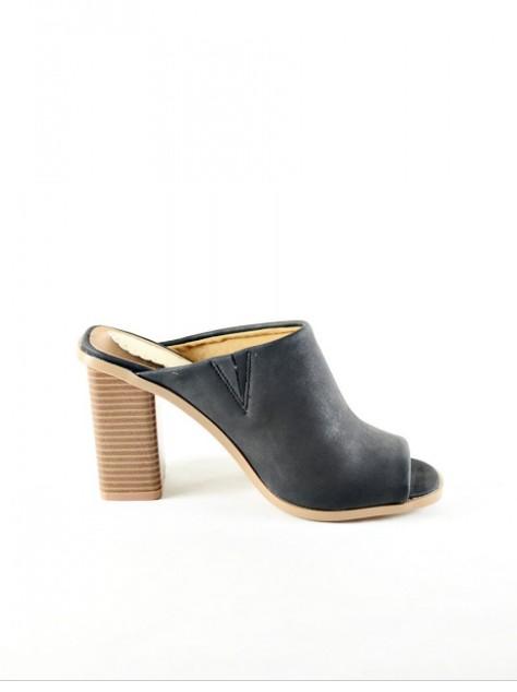 Open heel sandal