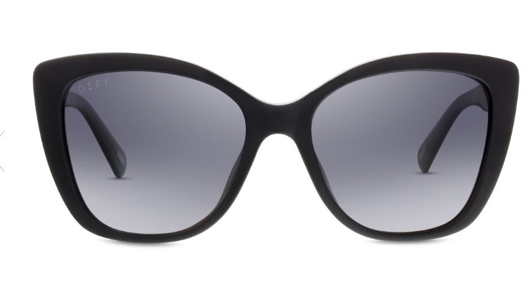 DIFF Black and Grey Sunnies